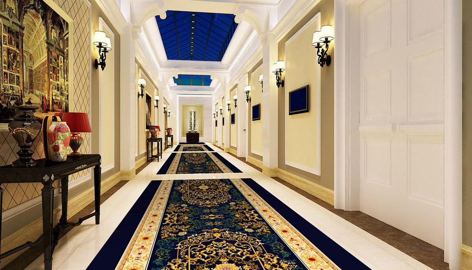 Thảm trải sàn còn được sử dụng nhiều trong khách sạn