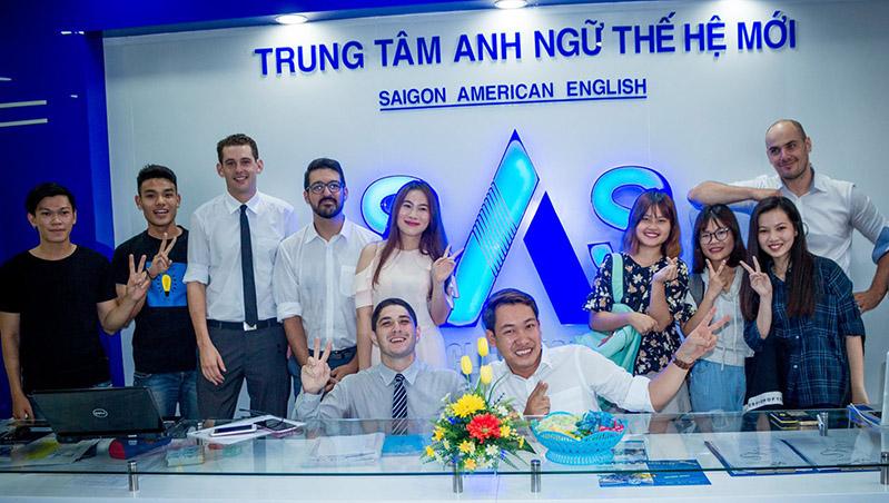 Trung tâm tiếng Anh Saigon American English