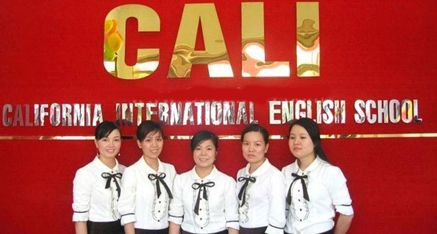 Trung tâm tiếng anh Cali ở Gò Vấp