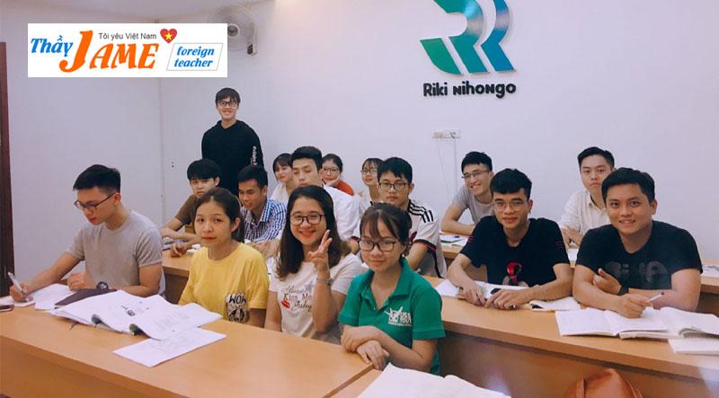 Khóa học tiếng nhật RIKI NIHONGO Hà Nội
