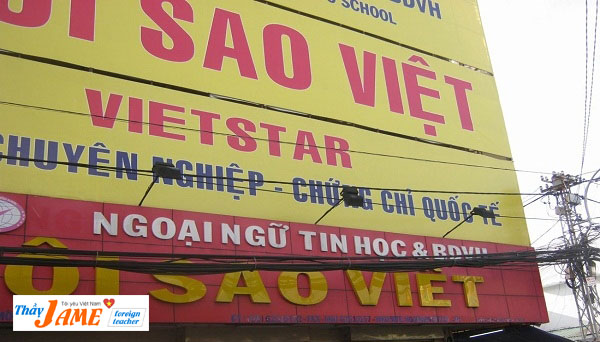 Trung tâm ngoại ngữ Ngôi Sao Việt