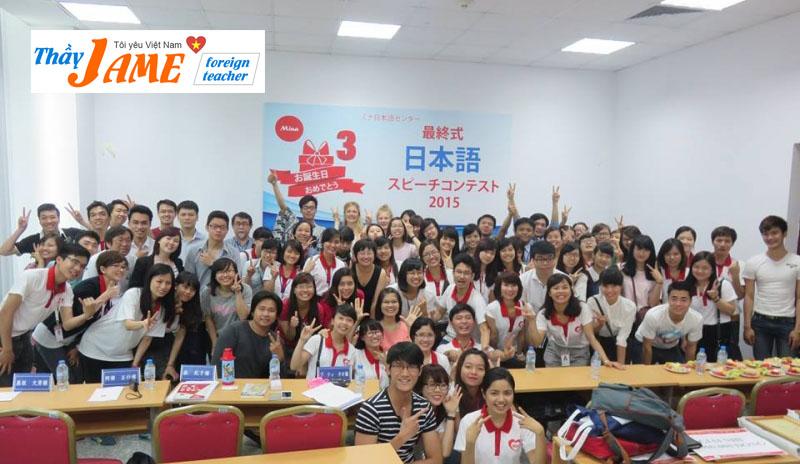 Mina là một trong những trung tâm tiếng nhật uy tín tại Hà Nội