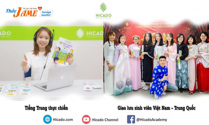 Trung tâm tiếng trung HICADO uy tín tại Hà Nội